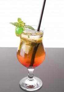 Eau de coco cocktail